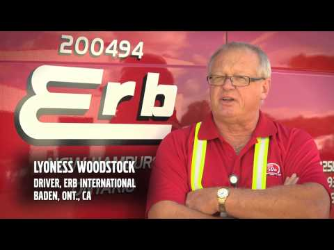 Volvo Trucks - Erb International, Inc. 2012 Safety Award Winner