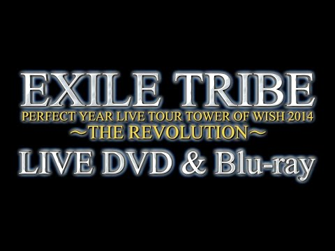 EXILE TRIBE / 「EXILE TRIBE PERFECT YEAR LIVE TOUR TOWER OF WISH 2014 〜THE REVOLUTION〜」LIVE DVD