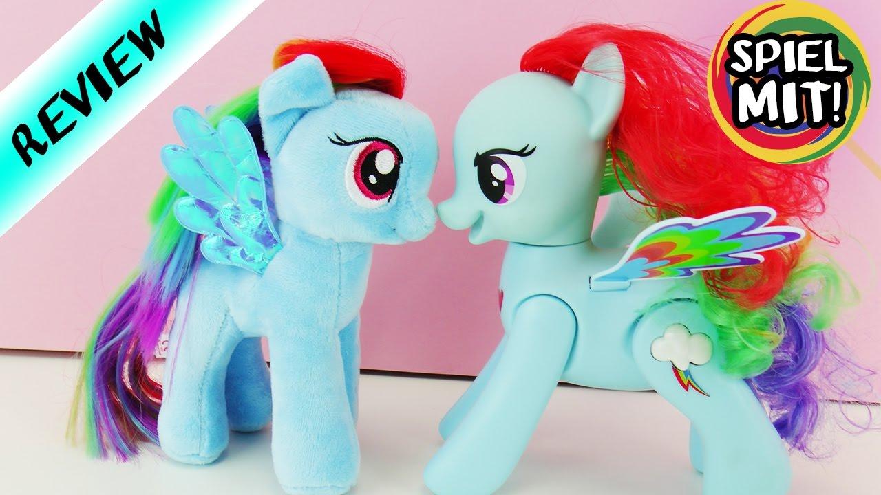 Zwei Rainbow Dash Ponys Im Vergleich My Little Pony Geschenke