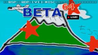 Beta64 Live - N64 DEV ROMs (Beta Stream)