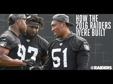 """""""THE NATION WILL RISE!!!"""" - Raiders Free Agent Signings/Draft class 2016"""