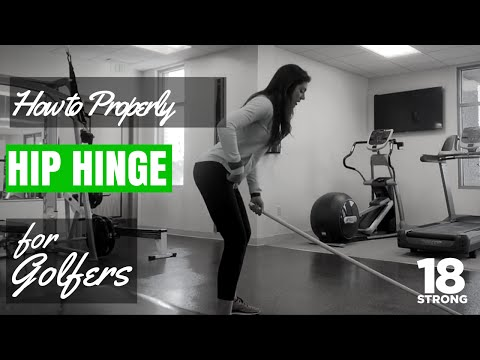 Exercises For Golfers - Hip Hinge