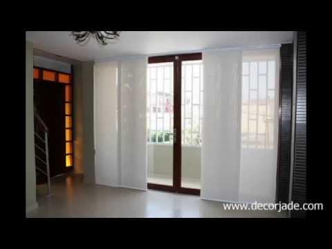 Cortinas japonesas per cortinas panel japon s - Cortinas estilo japones ...