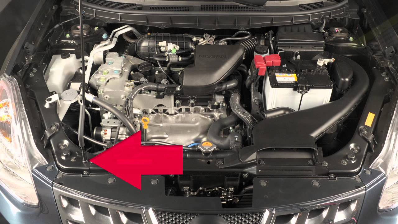 2013 Nissan Rogue Hood Release Youtube
