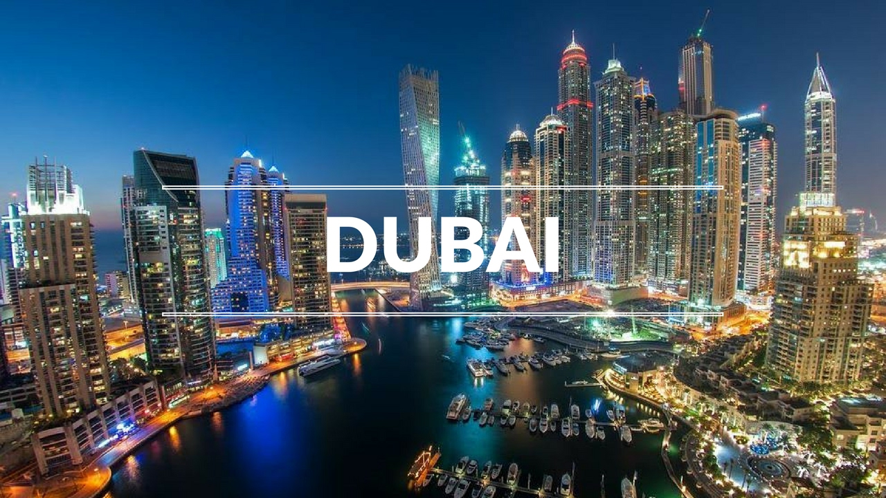 The Most Beautiful City In The World Dubai Youtube