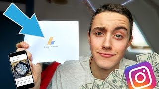 FIRST YOUTUBE PAYCHECK + HOW I MAKE MONEY ON INSTAGRAM!