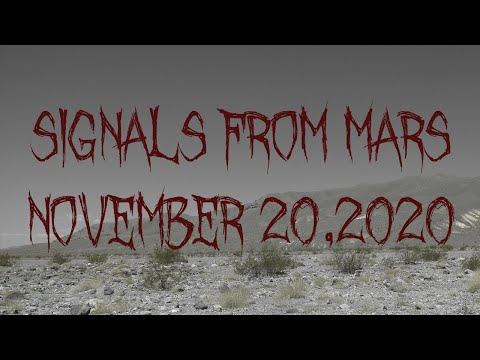 Signals From Mars Presented By Mars Attacks - November 20, 2020