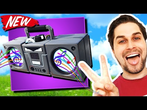 Nieuwe Boombox In Fortnite! - Fortnite Steady Storm (Nederlands)