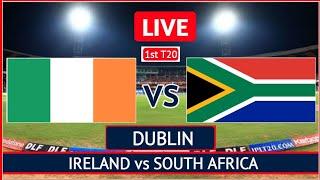 Ireland vs South Africa 3rd ODI LIVE | 3rd ODI RSA vs IRE 2021 LIVE Match | IRE vs RSA ODI Live