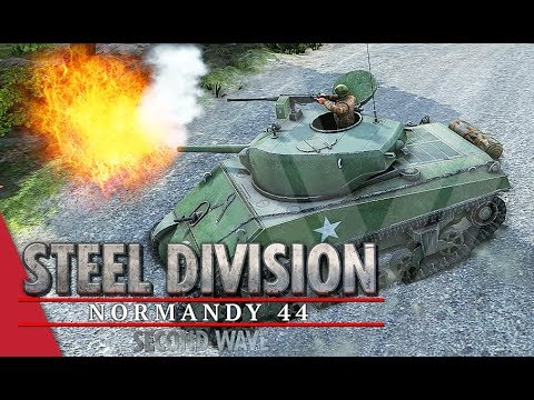To The Hill Once More! Steel Division: Normandy 44 Gameplay (Côte 112, 4v4)