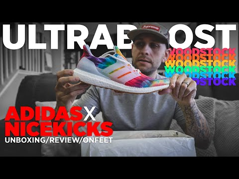 ADIDAS X NICEKICKS WOODSTOCK ULTRABOOST UNBOXING REVIEW & ON FEET