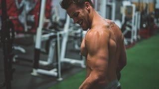 Set the momentum  - Arms Day pre-workout motivation