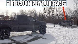 ILLEGAL F150 Stopped By Police AGAIN! COP Says: I Recognize You From Your Videos..
