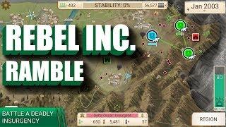 Rebel Inc. Android Gameplay Ramble (Simulation)