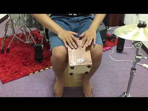 MEINL SCAJ1NT-LB Mini Cajon Solo 測試