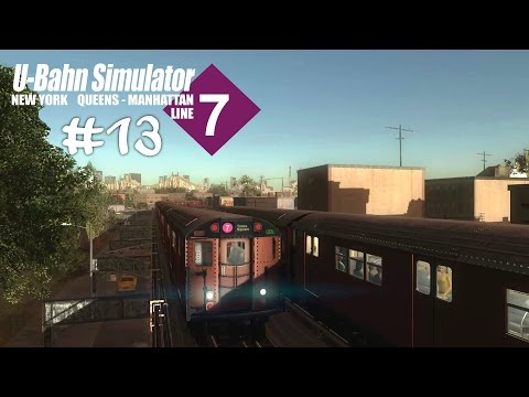 WOS 4 #13 Express Durch's New-Yorker Tunnelsystem ☆ Let's Play World Of Subways 4 New York Line 7