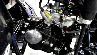 Taotao 125A with Upgrades - Twist Throttle, Carb, Sprocket Kit!! 110cc 125cc