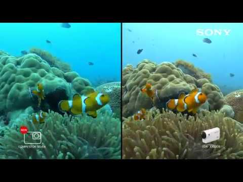 Sony's FDR-X3000 4K Action Cam | Comparison video - YouTube
