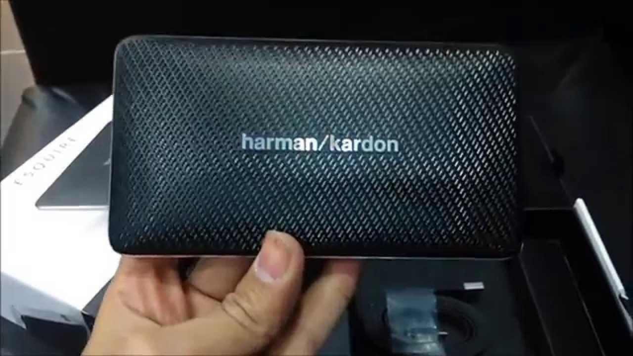 Разборка Harman/Kardon ESquire Disassembly - YouTube