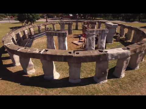 Stonehenge II- 4K Aerial Video