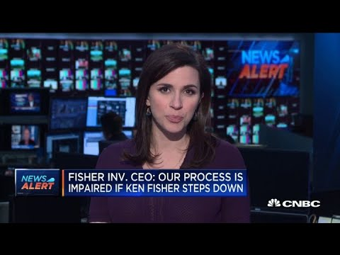 Fisher Investments CEO: Process Impaired If Ken Fisher Steps Down
