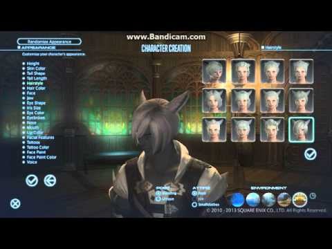 Miqote Male Character Creation Final Fantasy XIV A Realm Reborn YouTube
