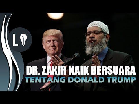 Download Youtube: Dr  Zakir Naik ANGKAT SUARA Soal DONALD TRUMP dan YERUSSALEM