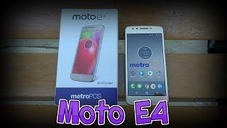 Moto E4 Unboxing & First Impressions | Metro PCS