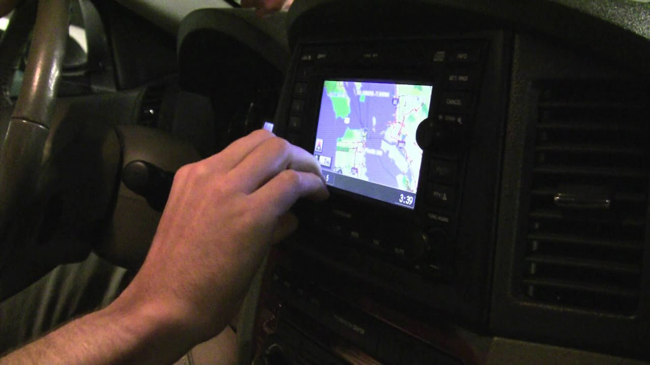 How To Update Your In Car Navigation System Youtube