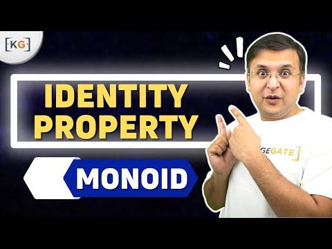 Identity Property | Monoid | Hindi | Group Theory | Discrete Mathematics- part-4