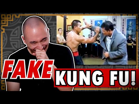 Real Shaolin Disciple Reacts to Fake Martial Arts