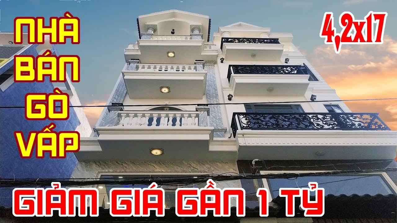 """Mua nhà mùa COVID-19 """"GIÁ GIẢM 1 TỶ"""" nhà phố tuyệt đẹp Quang Trung – Bán nhà gò vấp #515"""