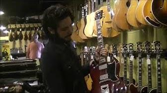 Vintage Guitar Store Tour