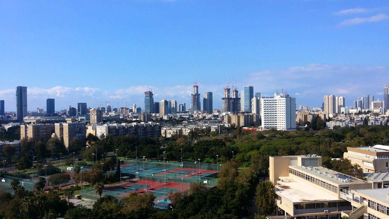 tel aviv ramat gan and givatayim skyline overview 11022016 youtube