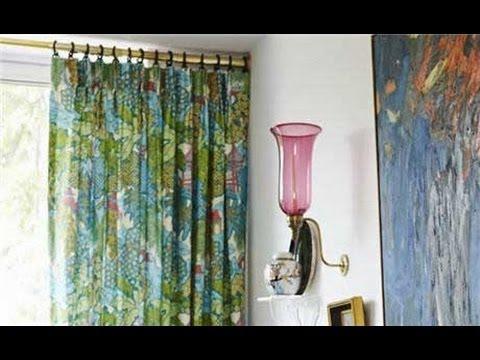 Diy Curtain Rods Youtube