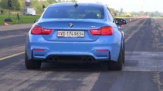 BMW M4 F82 Vs Toyota Supra Vs Porsche 911 Turbo S Vs Audi RS3