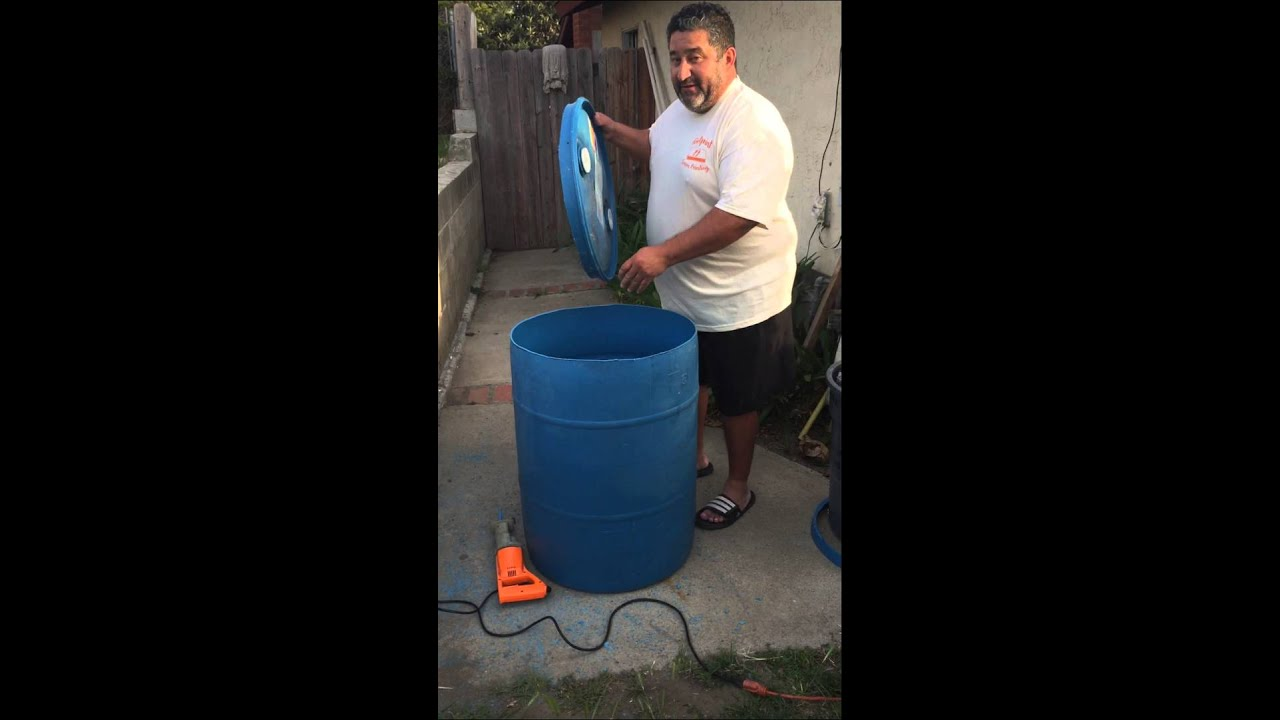 Homemade Septic System 55 Gallon Drum Homemade Ftempo