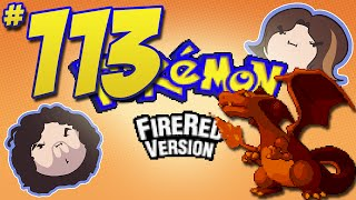 Pokemon FireRed: Rock Blasted! - PART 113 - Game Grumps