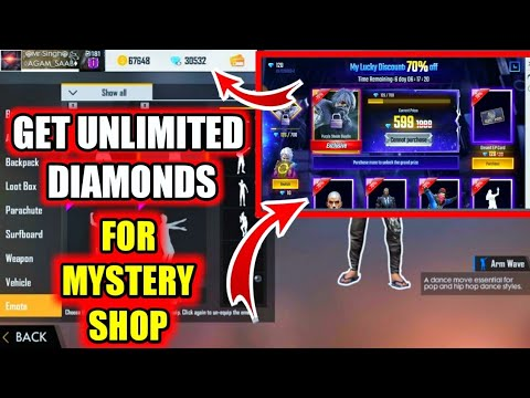 How To Get Unlimited Diamonds For Mystery Shop 5.0 Free Fire | Garena Free Fire