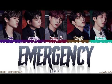 DAY6 (데이식스) – 'EMERGENCY' Lyrics [Color Coded_Han_Rom_Eng]