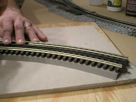 How to hook up wire the old timey 3 rail toy trains - YouTube