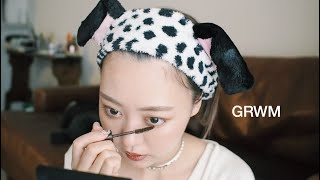 【GRWMメイク記録0625】最近買ったオススメコスメでブラウンメイク♡