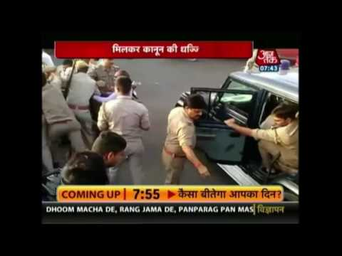 High Voltage Drama At Meerut After Clash Between Cops, BJP Leader Sanjay Tyagi