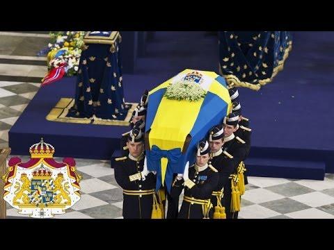 Prinsessan Lilians begravningsgudstjänst