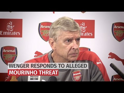 Arsene Wenger Responds To Alleged Mourinho 'Break His Face' Threat