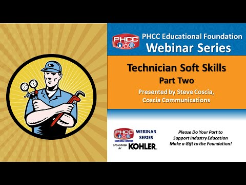 Technician Soft Skills, Part Two