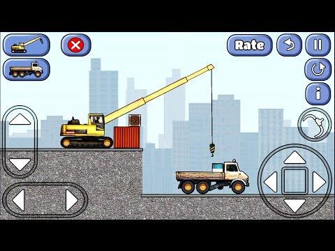 СИМУЛЯТОР стройки. Увлекательная игра как в жизни | Game | Видео про технику машинки