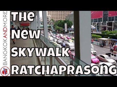 The New Skywalk Ratchaprasong - From Novotel Bangkok Platinum Pratunam to Gaysorn Shopping Center