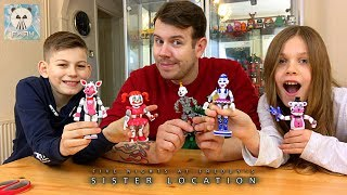 Sister Location - Five Nights at Freddy's FNAF Action Figures Funko with Ennard Unboxig