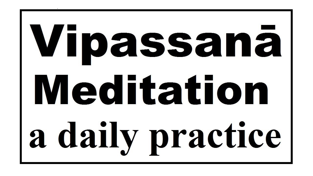 Vipassanā Meditation (45 minutes). Meditation videos series